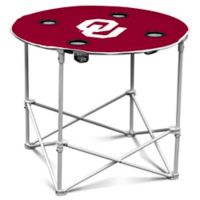 University of Oklahoma Round Collapsible Table