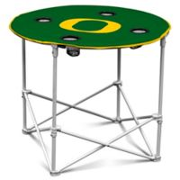 University of Oregon Round Collapsible Table