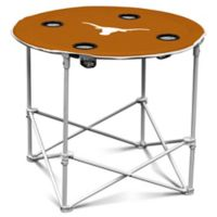 University of Texas Round Collapsible Table