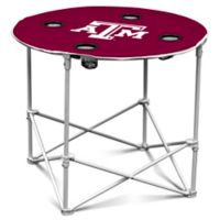 Texas A&M Round Collapsible Table
