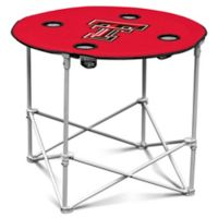 Texas Tech Round Collapsible Table