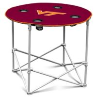 Virginia Tech Round Collapsible Table