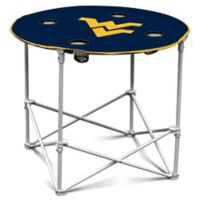 University of West Virginia Round Collapsible Table
