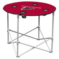 NFL Atlanta Falcons Round Collapsible Table