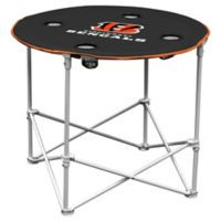 NFL Cincinnati Bengals Round Collapsible Table