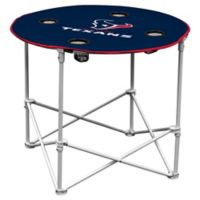 NFL Houston Texans Round Collapsible Table