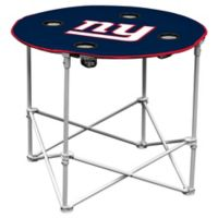 NFL New York Giants Round Collapsible Table