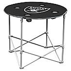 NFL Oakland Raiders Round Collapsible Table