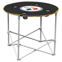 NFL Pittsburgh Steelers Round Collapsible Table