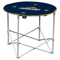 NFL San Diego Chargers Round Collapsible Table