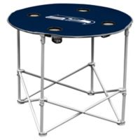 NFL Seattle Seahawks Round Collapsible Table