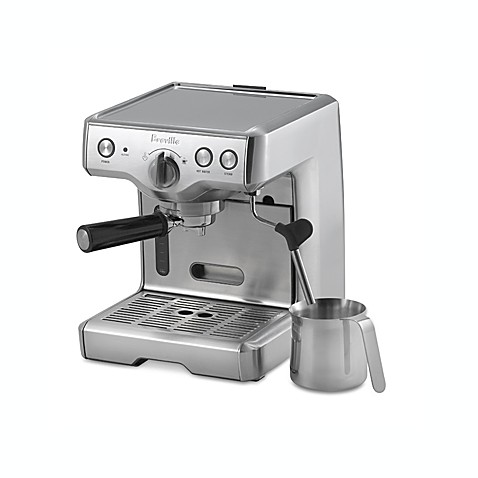 Breville® Die-Cast Model 800ESXL Semi-Automatic Espresso Machine