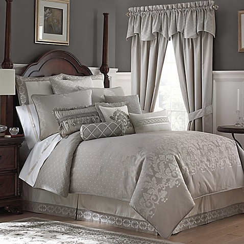 Waterford 174 Linens Colleen Reversible Comforter Set Bed