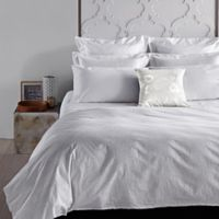 Frette At Home Adda Standard Pillow Sham in White