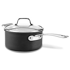 All Clad B1 Hard Anodized Nonstick Saucepan With Lid Bed