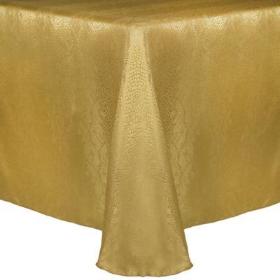 Kenya 90 Inch X 156 Inch Oblong Tablecloth In Flax