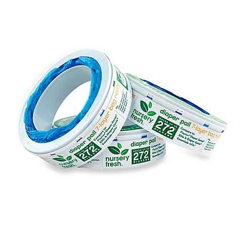 Nursery Fresh 3-Pack Diaper Pail Refills - Bed Bath & Beyond