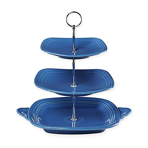 Fiesta® 3-Tier Server in Lapis  sc 1 st  Bed Bath \u0026 Beyond & Fiesta® 3-Tier Server in Lapis - Bed Bath \u0026 Beyond
