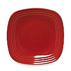 Fiesta® Square Dinner Plate in Scarlet