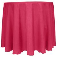 Majestic Satin Finished 90-Inch Round Tablecloth in Watermelon
