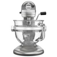 KitchenAid® Pro 600 Stand Mixer with 6-Quart Glass Bowl in Silver