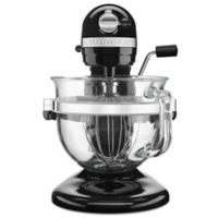 KitchenAid® Pro 600 Stand Mixer with 6-Quart Glass Bowl in Black
