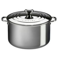 Le Creuset® 4 qt. Tri-Ply Stainless Steel Covered Casserole