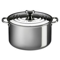 Le Creuset® 7-Quart Tri-Ply Stainless Steel Covered Stock Pot