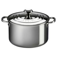 Le Creuset® 11-Quart Tri-Ply Stainless Steel Covered Stock Pot