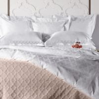 Frette At Home Marano European Pillow Sham in White
