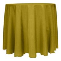 Majestic Satin Finished 132-Inch Round Tablecloth in Acid Green