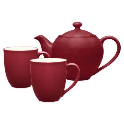 Noritake® Colorwave 3-Piece Tea-for-2 Set in Raspberry  sc 1 st  Bed Bath u0026 Beyond & Buy Casual Dinnerware Sets from Bed Bath u0026 Beyond