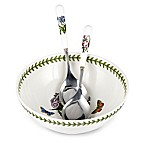 Portmeirion® Botanic Garden Salad Bowl with Servers Set