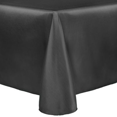 Incroyable Majestic 90 Inch X 132 Inch Tablecloth In Charcoal