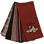 """Happy Thanksgiving"" Kitchen Towels (Set of 5)"