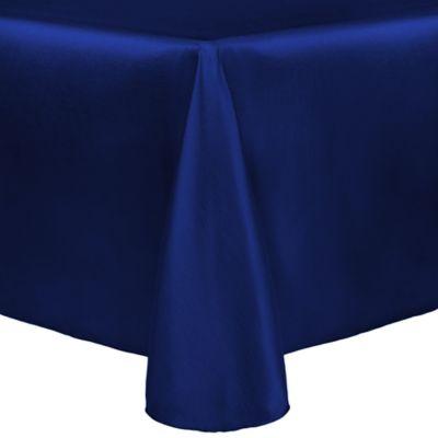 Navy Tablecloth With Metallic Gold Imprint Custom Tablecloths ...