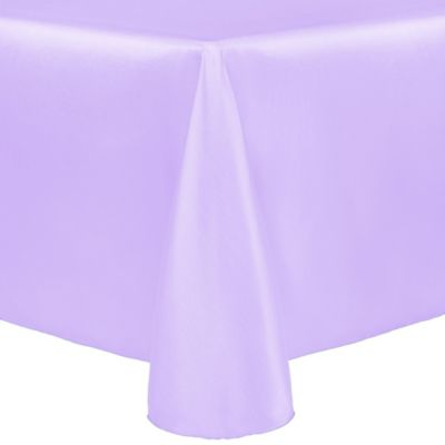 Ordinaire Majestic 60 Inch X 120 Inch Oblong Tablecloth In Lilac