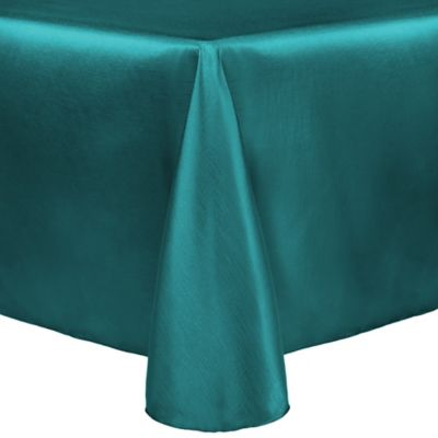 Nice Majestic 60 Inch X 120 Inch Tablecloth In Teal