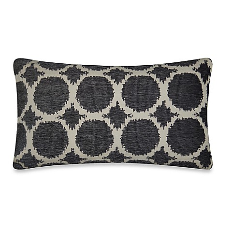 Circles Throw Pillow in Pewter - Bed Bath & Beyond