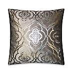 Elisha Throw Pillow in Grey/Silver