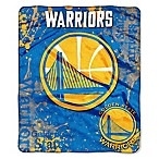 NBA Golden State Warriors Super-Plush Raschel Throw Blanket