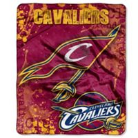 NBA Cleveland Cavaliers Super-Plush Raschel Throw Blanket