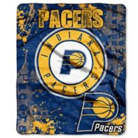 NBA Indiana Pacers Super-Plush Raschel Throw Blanket