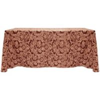 Miranda Damask 90-Inch x 156-Inch Oblong Tablecloth in Bordeaux
