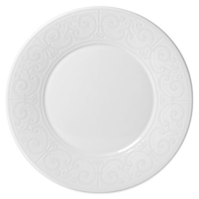 Mikasa® Sutton Dinner Plate in White  sc 1 st  Bed Bath \u0026 Beyond & Buy White Decorative Plates from Bed Bath \u0026 Beyond