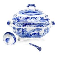 Spode® Blue Italian Soup Tureen with Ladle