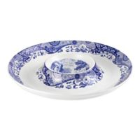 Spode® Blue Italian Chip and Dip