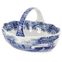 Spode® Blue Italian Handled Basket
