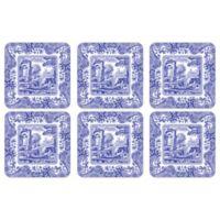 Spode® Blue Italian Coasters (Set of 6)