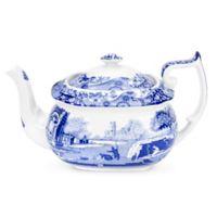 Spode® Blue Italian Teapot